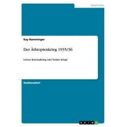 Bücher: Der Äthiopienkrieg 1935/36  von Kay Ramminger