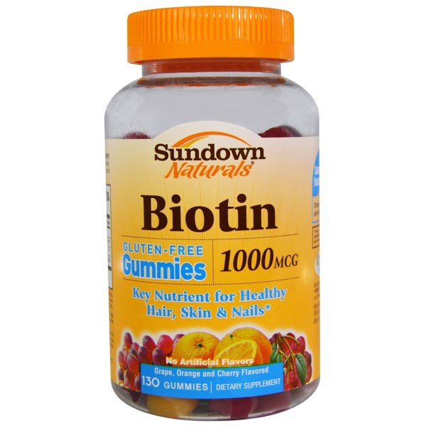 Rexall Sundown Naturals, Biotin, Grape, Orange and Cherry ...
