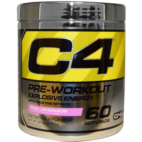 Cellucor, C4, Pre-Workout, Explosive Energy, Pink Lemonade, 13.75 oz (390 g) na Bazarek.pl