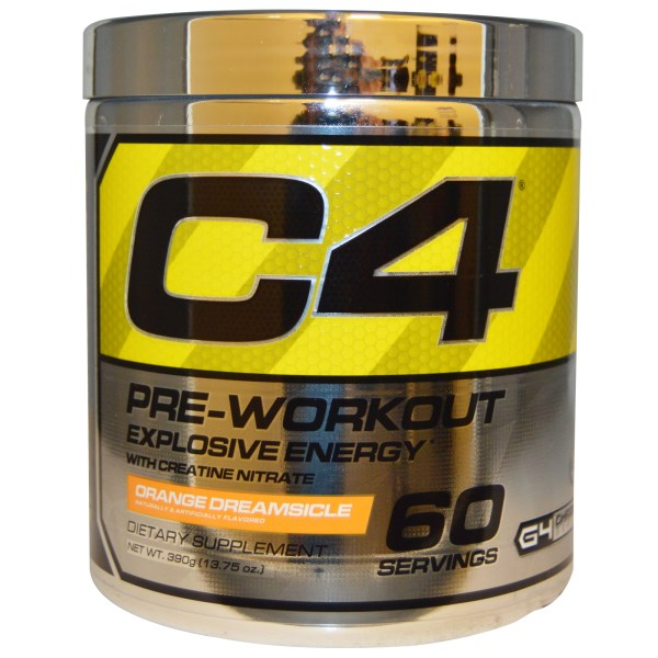 Cellucor, C4, Pre-Workout, Explosive Energy, Orange Dreamsicle, 13.75 oz (390 g) na Bazarek.pl