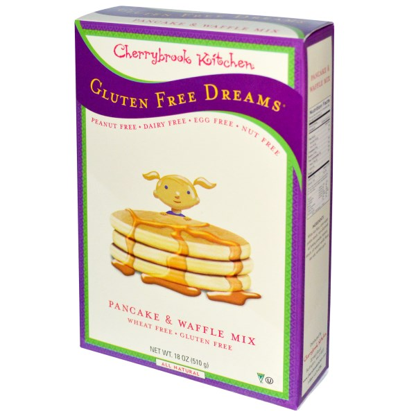 cherrybrook kitchen gluten free dreams pancake waffle mix 18 oz