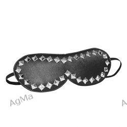 Klasyczna maska z ćwiekami - S&M Studded Mask