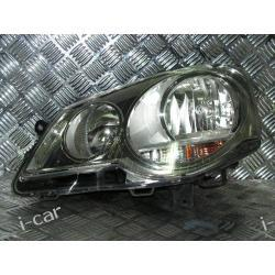 VW POLO lewy reflektor lampa