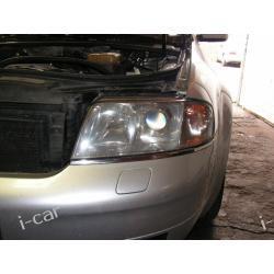 Audi A6 - naprawa LAMPY - regeneracja klosza