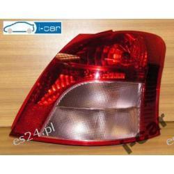 TOYOTA YARIS 06-08r PRAWA lampa - kompletna