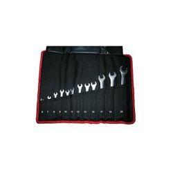 Komplet kluczy płasko-oczkowych Jobi extra 6szt. (6 - 17mm) Narzędzia i sprzęt warsztatowy