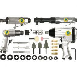 Zestaw narzędzi pneumatycznych z akcesoriami, 33 części 81142 Vorel  Narzędzia