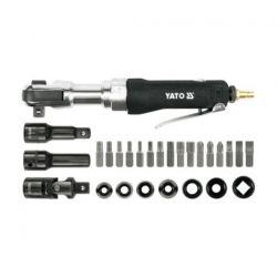 """Grzechotka pneumatyczna 1/2"""" z akcesoriami, YT-0982 Yato  Narzędzia"""