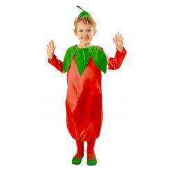 Strój PAPRYKA kostium papryczka chili warzywa bal