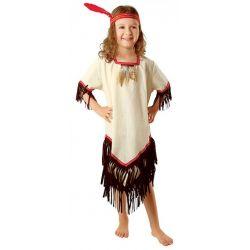 Strój INDIANKA 122/128 kostium DZIKI ZACHOD  bal