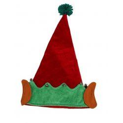 Czapka ELFA czapka strój skrzat POMOCNIK MIKOŁAJA