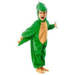 Strój KROKODYL 98/104 kostium smok dino potwór bal