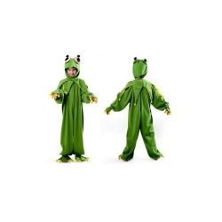 Strój ŻABKA 134/140 kostium frog wiosna bocian bal