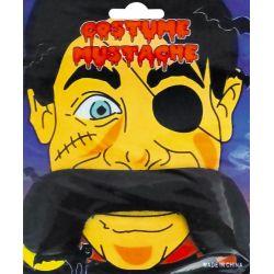 Wąsy Oko KORSARZ zestaw strój kostium PIRATA