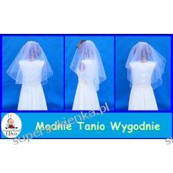 Welon ślubny obszyty mereżką lub bez obszycia Ślub i wesele