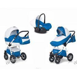 """""""MONDO ECCO"""" Aluminiowy wózek 3w1 kolor ADRIATIC firmy EXPANDER"""