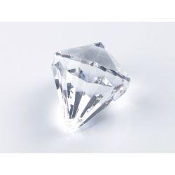 Zawieszki Diamenty, bezbarwny, 31 x 37mm, 1op.