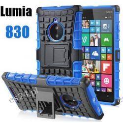 Silikonowe hybrydowe etui panel ochronny nokia lumia 830