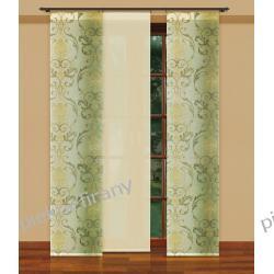 panel z obciaznikiem 50x250 japończyk krem oliwka