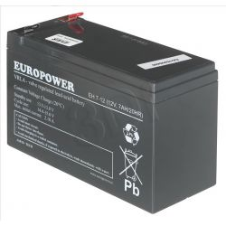 Akumulator EVER Do Ups Europower 12V 7Ah T2...