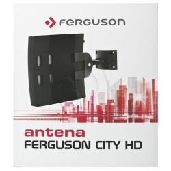 Antena DVB-T Ferguson CITY HD Kierunkowa Zewnętrzna 470-862 (UHF)  174-240 (VHF)MHz 28dB Złącze Typu F...