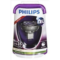 Philips żarówka LED 8718696490334 (punktowa 380lm 6 3W GU5.3 ciepła biel)...
