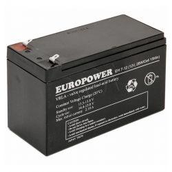 Akumulator EVER Do Ups Europower 12V 7Ah T1...