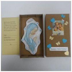 Płaskorzeźba MB Modląca w pudełku... - 49819