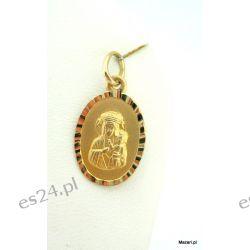 Medalik złoty Dewocjonalia