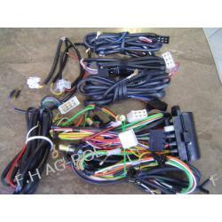 Instalacja elektryczna MF 3-cyl / MF-255 Lampy tylne