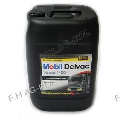 Olej silnikowy Mobil Delvac Super 1400 , 15W-40 opakowanie 20-litrów Lampy tylne