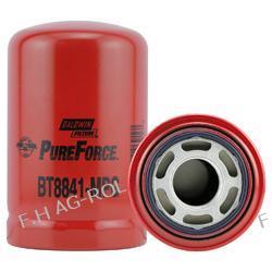 Filtr hydrauliczny Baldwin BT8841-MPG zamienniki:Ingersoll-Rand 58887936; J.C. Bamford 32/905501; John Deere AL77061; New Holland 82003166: Donaldson P164381; Lampy tylne