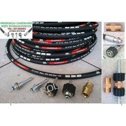 Wąż przewód do myjni,myjki KARCHER ,400 BAR, TEMP: DO 155° ,DN08 ,2SN-2 x oplot metalowy