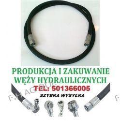 PRZEWÓD HYDRAULICZNY DN10, 330 BAR, AA-2200mm, 2 x NAKRĘTKA-GWINT M18x1.5  ,zastosowanie:PŁUG B-200 Lampy tylne