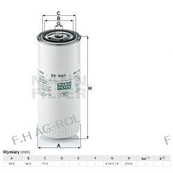 Filtr paliwa MANN-WK 962/4, zastosowanie:DAF, JCB ,CLAAS, NEW HOLLAND,LEYLAND-DAF,  Lampy tylne