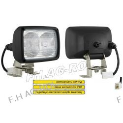 Lampa robocza podwójna z regulacją światła - z przewodem zakończonym złączem AMP Lampy tylne
