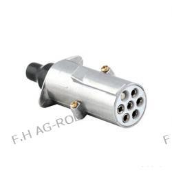 Wtyczka 7-bieg.24V-typ S aluminium Lampy tylne