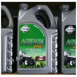 Olej FUCHS Agrifarm Stou 10W30, 5 litrów Części do maszyn rolniczych