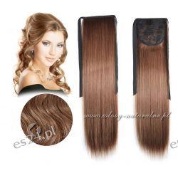 Doczepiane włosy Kucyk Kitka 100% Naturalne 63cm