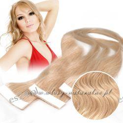 Doczepiane włosy na taśmie TAPE on / off GĘSTE