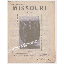 NUTY/ Missouri/ nr 13/ Rudzki/ walc Amerykański Antyki i Sztuka