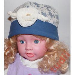 Pupill Marysia G1298  czapka dziecięca  46-48 cm