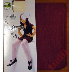 Knittex Agatka R395 rajstopy dziewczęce 122 - 128