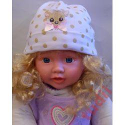 Pupill Florcia G1323 czapka dziecięca  44-46 cm