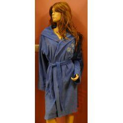 Dorota X1550  szlafrok damski bawełniany S