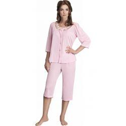 Mewa 110 elegancka piżama damska jedwabna 44
