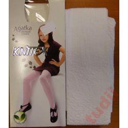 Knittex Agatka A2777 rajstopy dziewczęce 92-98