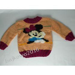 Sweterek MYSZKA MINNIE Rękodzieło