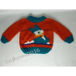 Sweterek KACZKA DAISY Rękodzieło