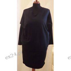 Sukienka dresowa rozmiar 42/44 czarna